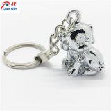 Kundenspezifisches Hundeform-Metall Keychain