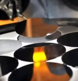 Кристалл полупроводников одиночный и вафля кремния от Китая