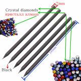 Crayon HB en bois noir avec Crystal diamants sur le haut