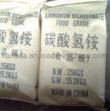 Гидрокарбонат аммония качества еды изготовления 99.5%