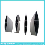 Perfil de anodización del aluminio de la forma de la diferencia de la fábrica de aluminio de China