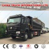 Sinotruk HOWO 371HP 8X4 50 tonnellate dell'autocarro con cassone ribaltabile di autocarro a cassone pesante