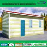 Casa prefabricada plegable a dos caras prefabricada del contenedor del paquete plano del plegamiento