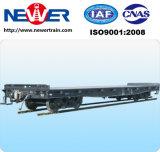 De speciale Wagen van de Vracht van de Spoorweg Vlakke voor het Spoor van het Vervoer
