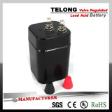 Medical Equipment를 위한 6V4.5ah Rechargeable Power Battery