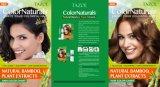 Teinture de cheveu de Colornaturals de soins capillaires de Tazol (Brown foncé) (50ml+50ml)