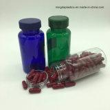 150cc Limpar o óleo de peixe de plástico PET Cápsulas Softgel Cápsulas Softgel Redondo, garrafa recipiente de plástico