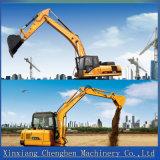 Excavador rodado hidráulico aprobado del Ce chino con 0.6m³ Compartimiento