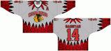 Customized Homens Mulheres Crianças Liga de Hóquei Ocidental 2000-2011 Winterhawks Portland Altrenate Hóquei no Gelo Jersey
