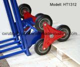 Carrello della mano dei bagagli Ht1105/carrello piegante di alluminio della mano