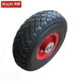 작은 장치를 위한 10X3.00-4 단단한 타이어 고무 바퀴
