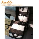Carregamento USB inteligente antirroubo viagens à prova de saco de ombro dupla mochila de computador