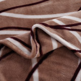 Weiche warme Polyester-Vlies-Flanell-Zudecke