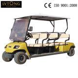 China Hersteller 8 Seater Electric Cars für Sightseeing