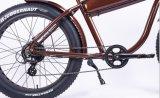 Bici elettrica classica della strada con la batteria elettrica della bicicletta