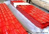 De alta calidad perfilado de color cubiertas de chapa de acero para techos