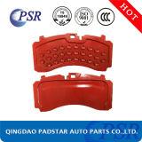 Placa de suportação das almofadas de freio do disco para o mercado de acessórios do caminhão do ator