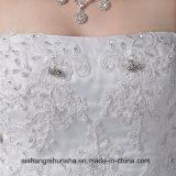 Neues Ankunfts-Hochzeits-Luxuxkleid Appliques Spitze