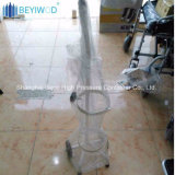 Het Regelbare Karretje van uitstekende kwaliteit van de Zuurstof van de Kar van de Cilinder van de Zuurstof van de Houder van de Zuurstof
