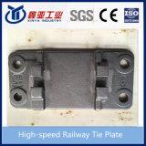 Placa de laço Railway de alta velocidade Ductile do ferro de molde