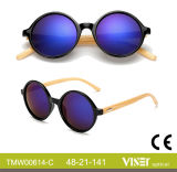 Kundenspezifischer PC Rahmen China-Whosale, Bambusbügel-Sonnenbrillen mit Cer FDA (614-A)