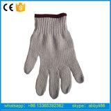 Естественный белый рабочей хлопка трикотажные защитные перчатки