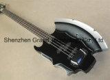 크롬 기계설비 (GB-74)를 가진 도끼 서명 4 끈 베이스 기타
