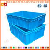 Faltbare Supermarkt-Plastikumsatz-Logistik angehäufter Rahmen mit Kappe (ZHTB30)