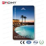 Tamanho personalizado, legível e gravável cartão RFID de Freqüência Dupla
