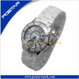 Montre-bracelet noir de marque en céramique pour les hommes