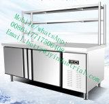 ホテルおよびレストランのカウンタートップのスリラーサラダ表示冷却装置のための反対冷却装置の下