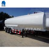 O carregamento de navio petroleiro de combustível semi reboque com 3 eixo de 40000 litros para venda