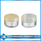 10ml Mini Cosméticos de cor creme facial copo de plástico