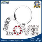 Keyring de Avaialbe do diamante do produto da alta qualidade