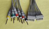 Cavo del circuito di collegamento ECG&EKG di Kanz Snap&Clip 10