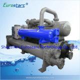 Condicionador de ar central de alta eficiência Use bomba de calor de fonte de água refrigerada a água