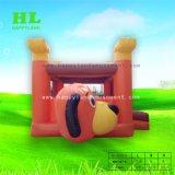 Tema de futebol insuflável engraçado personalizados combinadas com o futebol em 3D para as crianças a fazer o jogo de exercícios de desportos de Desenvolvimento