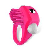 Anel de vibração da torneira do silicone Eco-Friendly dos presentes para a ejaculação do atraso do homem