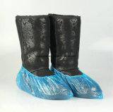 Blauer PET Schuh-Wegwerfdeckel mit Gummiband