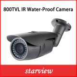 Camera van de Veiligheid Varifocal van de Kogel van kabeltelevisie van het toezicht 800tvl IRL de Waterdichte Video Openlucht (W14)