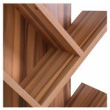Sala de los niños de color marrón de la madera de estilo urbano 10 de nivel de la unidad de estanterías estantería