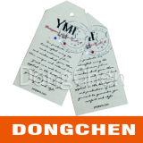 De Kleding van het Document van Folden van de Druk van de douane hangt Markeringen