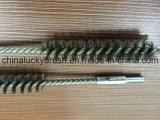 escobilla inoxidable del alambre de acero de 0.15m m con el hilo de rosca M6 (YY-600)