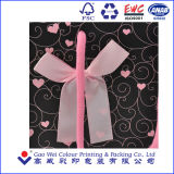 新しく豪華なCustomeのロゴによって印刷されるショッピング・バッグ、ギフト袋、ハンドルが付いている紙袋