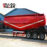 Klant 40cbm de Semi Aanhangwagen van de Tank van de Lading stortgoed met de Compressor en de Dieselmotor van de Lucht