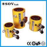 Cylindre hydraulique temporaire de tonnage élevé de soupape d'arrêt double