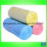 Sacchetti di immondizia di plastica personalizzati di spessore e di formato