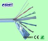 UTP CAT6 4pr 23AWG kupferne CCA LAN-Kabelnetzwerk-Kabel 305m eine Rolle