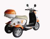 трицикл 500W 48V электрический с передней корзиной и задним хоботом (TC-014)