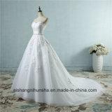 恋人のレースの花の方法花嫁のためのセクシーなウェディングドレス